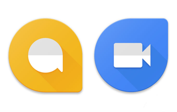 Google updates Allo and Duo icons to match other apps