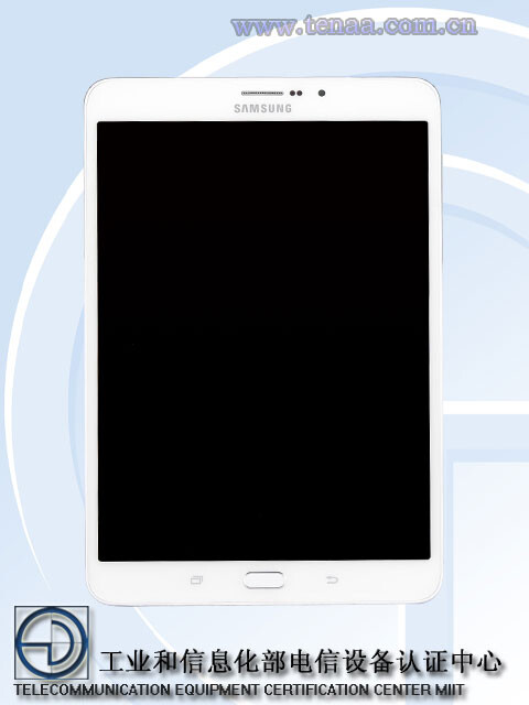 Photos of the Samsung Galaxy Tab S3 from TENAA