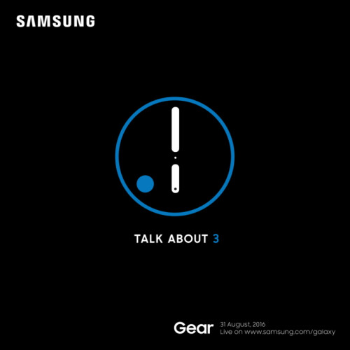 Teaser confirms that the Gear S3 and Gear S3 Classic will be unveiled at IFA