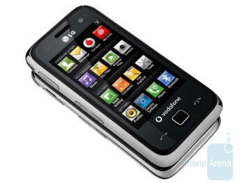 The LG GM750 runs Windows Mobile 6.5