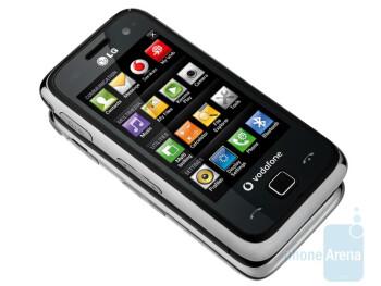 The LG GM750 runs Windows Mobile 6.5