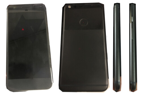 Leaked photos of the Nexus Sailfish front, back and both sides