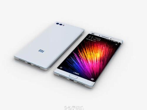 Xiaomi Mi Note 2 leaks, renders and mock-ups
