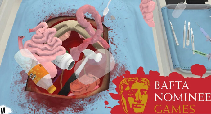 Surgeon Simulator currently 70% down on Android, the bloody splatterfest now retails for $1.49