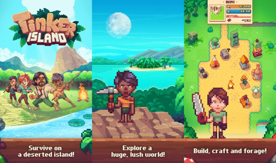 Tinker Island - Best new Android and iPhone games (August 9th - August 16th)