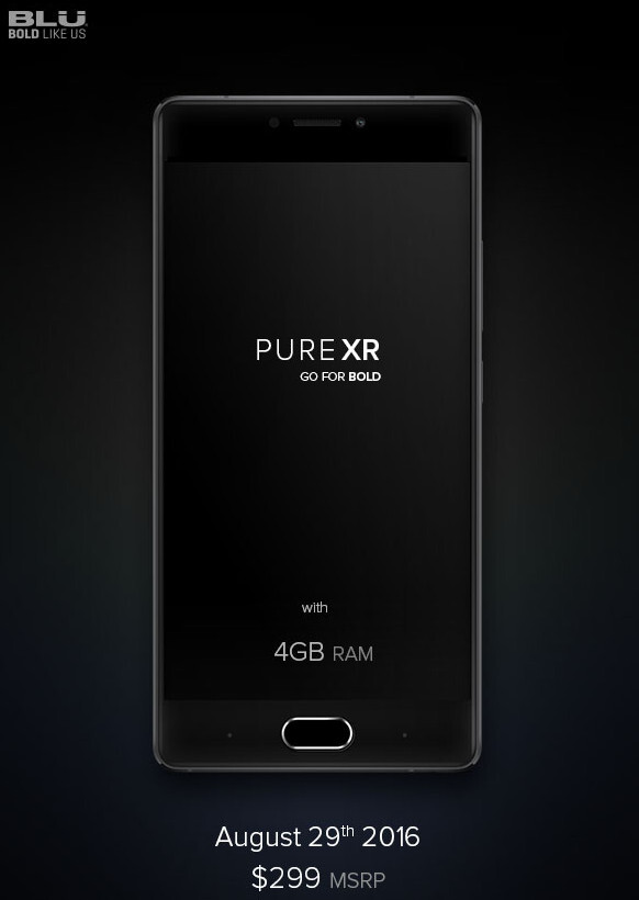 Blu Pure XR is a new affordable flagship phone, and you can try to win one