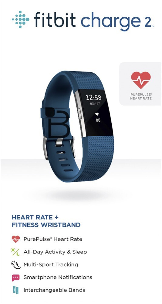 fitbit charge 2 and fitbit flex 2 leaked in promo images. Black Bedroom Furniture Sets. Home Design Ideas
