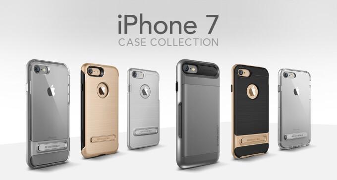 VRS Design's iPhone 7/7 Plus case collection has it all, even a selfie stick bumper
