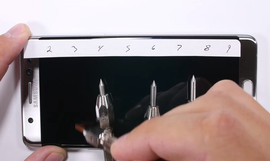 Corning explains why Samsung Galaxy Note 7's Gorilla Glass 5 scratches easily