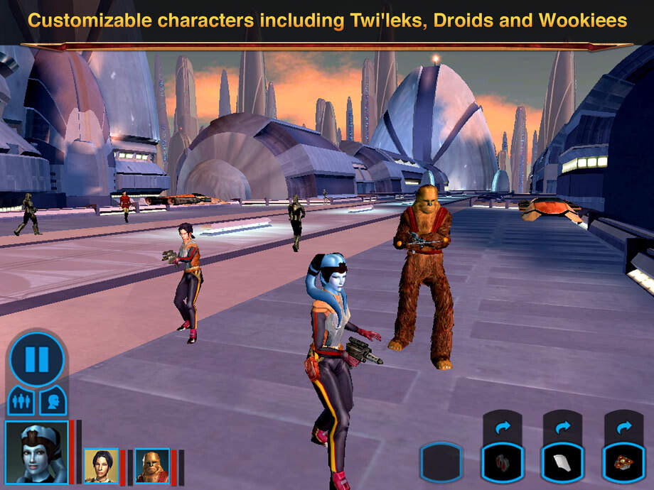 Star Wars Knights of the Old Republic - 8 excellent Android games to play on your new Samsung Galaxy Note 7