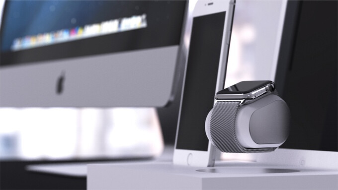 This levitating charger makes charging your Apple Watch a thing to look forward to