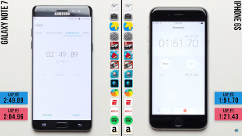 iPhone 6s beats Samsung Galaxy Note 7 in performance test
