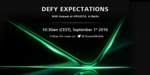 Huawei teasers for its IFA event on September 1st