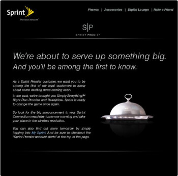"UPDATED:""Wireless Revolution"" coming tomorrow from Sprint"