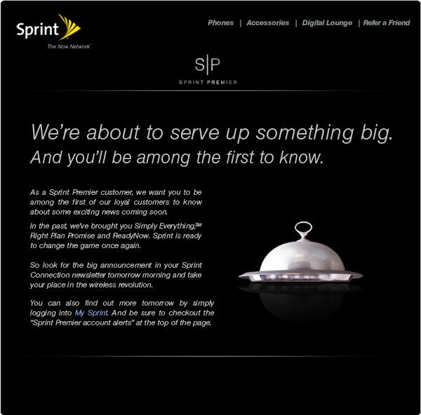 """UPDATED:""""Wireless Revolution"""" coming tomorrow from Sprint"""