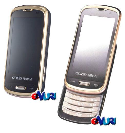 Samsung Giorgio Armani W820/W8200 to be a Korea-only phone?