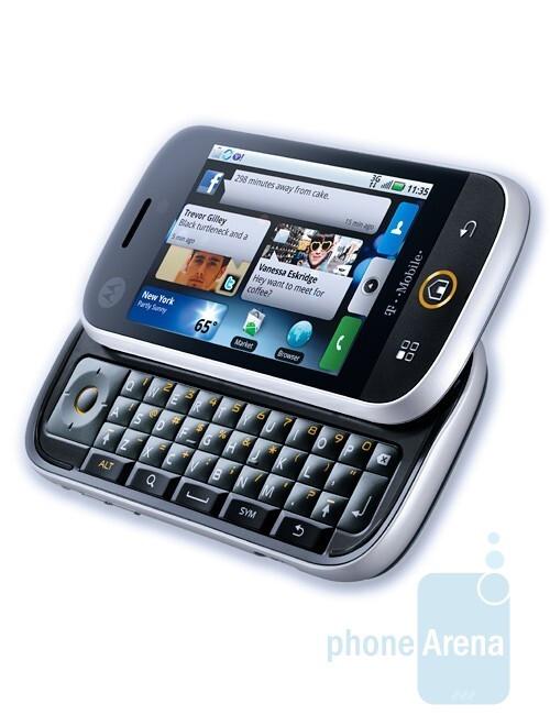 The Motorola CLIQ will run ona personalized interface - MOTOBLUR - Motorola CLIQ is to introduce the second personalized Android UI – MOTOBLUR