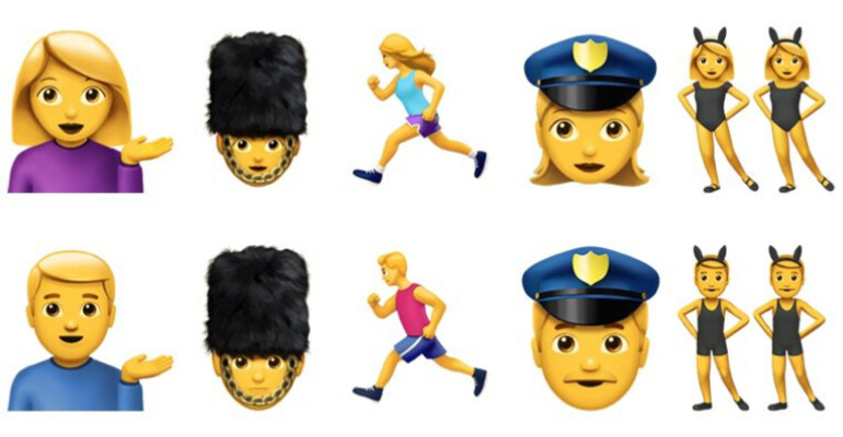 One proposal adds a new gender to existing emoji