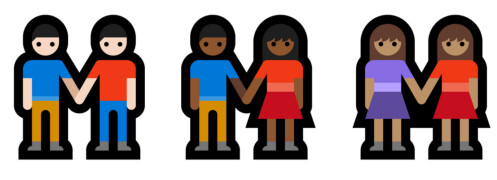 Current emoji technology forces couples to have the same skin tone