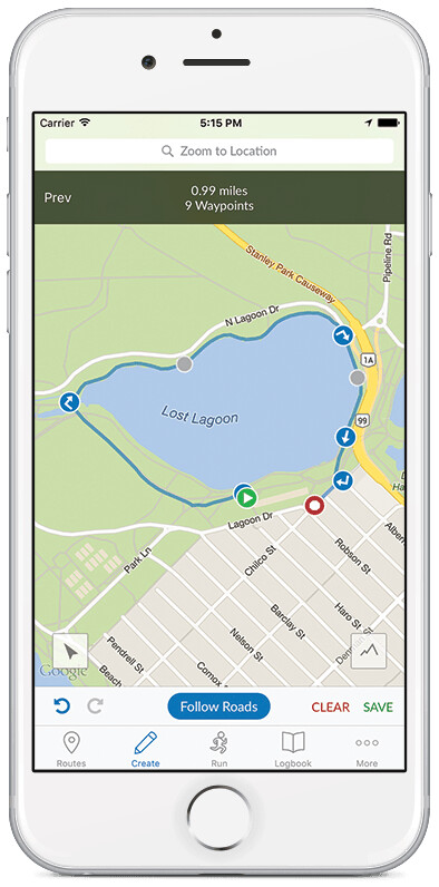 Just run! - RunGo is the first app with turn-by-turn voice navigation for running routes