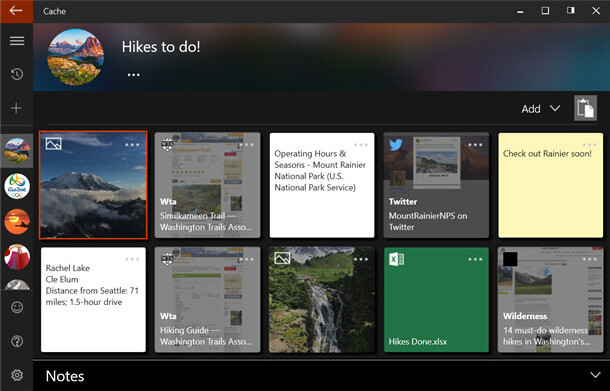 Microsoft introduces Cache app for iOS, Android version not yet available