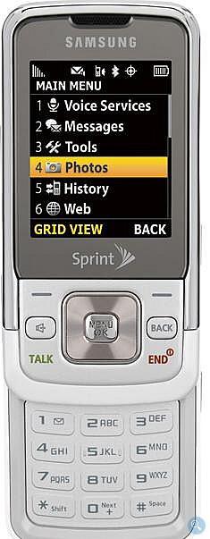 Samsung M330 slides safely into Sprint