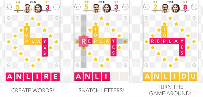 Wordox lets you challenge your opponents to a wordplay duel