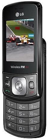 The LG GB230 equipped with FM radio that doesn´t need a pair of headphones