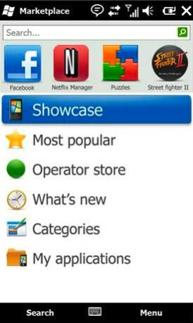 Windows Marketplace for Mobile - Global launch of Windows Mobile 6.5 on October 6th includes AT&T, Verizon and Sprint
