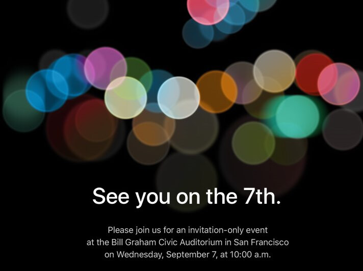 Apple will be unveiling the new iPhone models and perhaps the Apple Watch 2 on September 7th - It's official! Apple to hold  'invitation only' event on September 7th