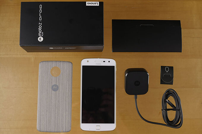 Moto Z Play Droid and Hasselblad True Zoom camera unboxing