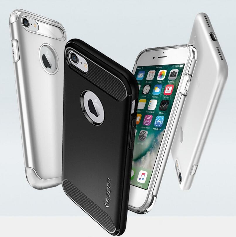 iphone 7 plus phone case spigen