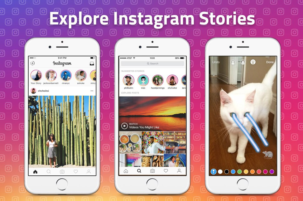 Instagram will now suggest Stories for users to follow