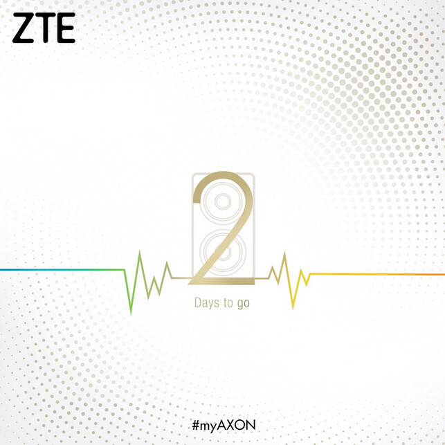 ZTE's IFA teaser is for a model already released with dual front-facing speakers, the ZTE Axon 7 mini - ZTE teases dual camera Axon model for IFA unveiling (UPDATE)