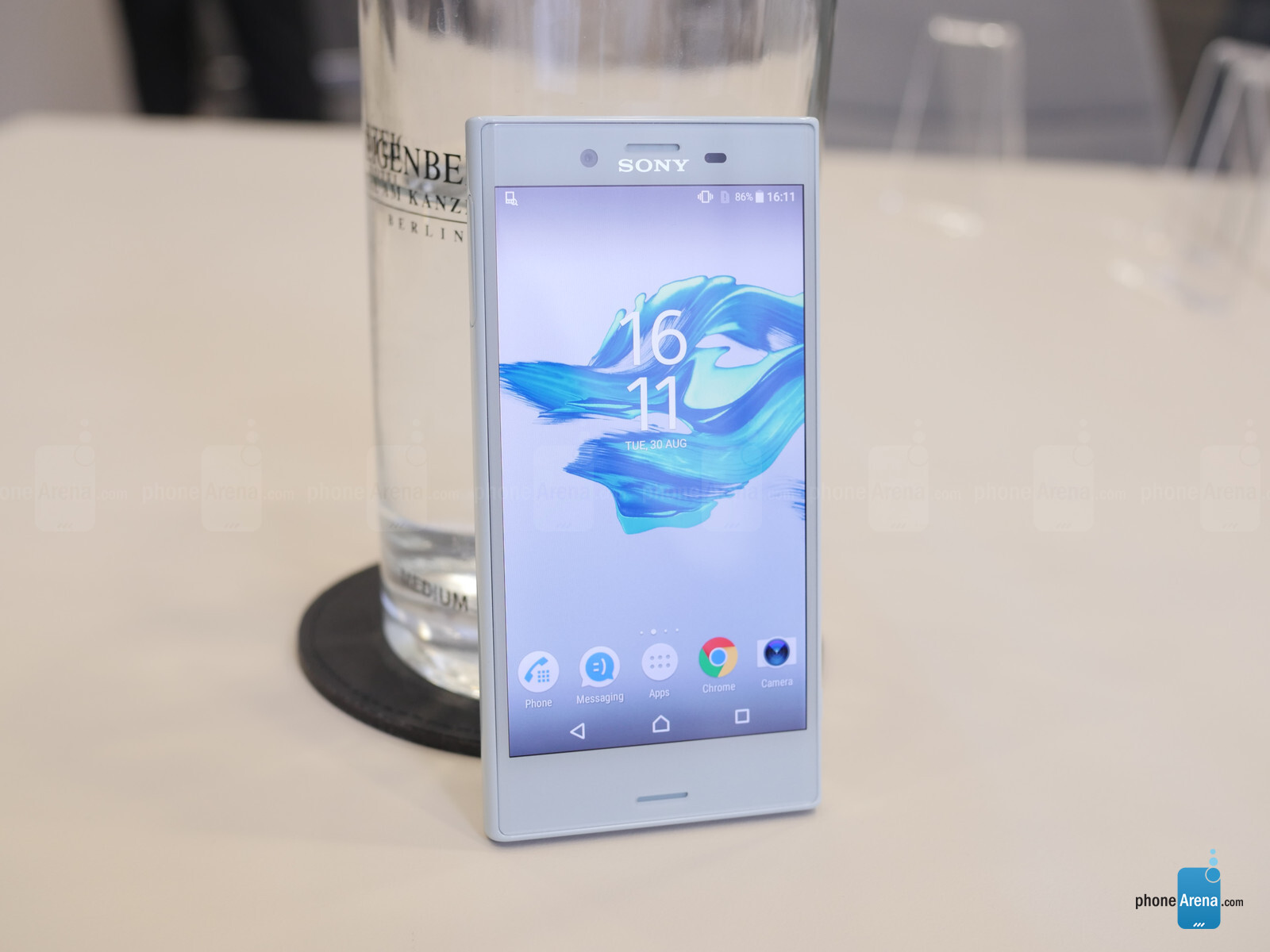 sony xperia x compact hands on phonearena reviews. Black Bedroom Furniture Sets. Home Design Ideas