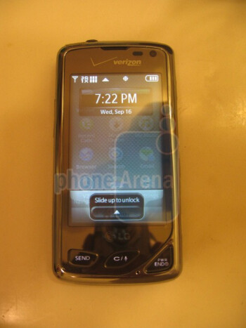 Exclusive new images of the LG Chocolate Touch VX8575