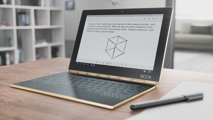 The Lenovo Yoga Book is a 2-in-1 tablet that aims to cater to both power users and creative types