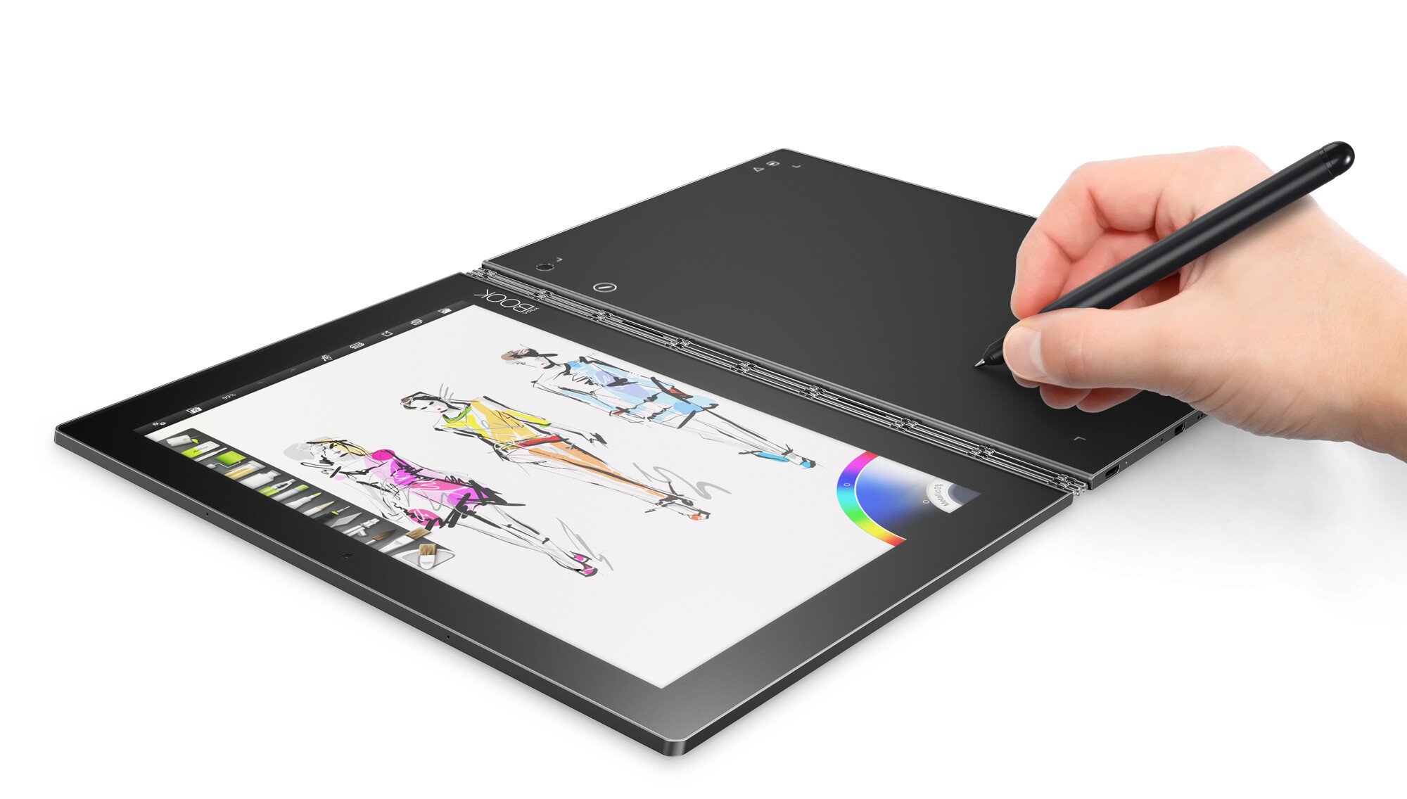 the lenovo yoga book is a 2 in 1 tablet that aims to cater. Black Bedroom Furniture Sets. Home Design Ideas