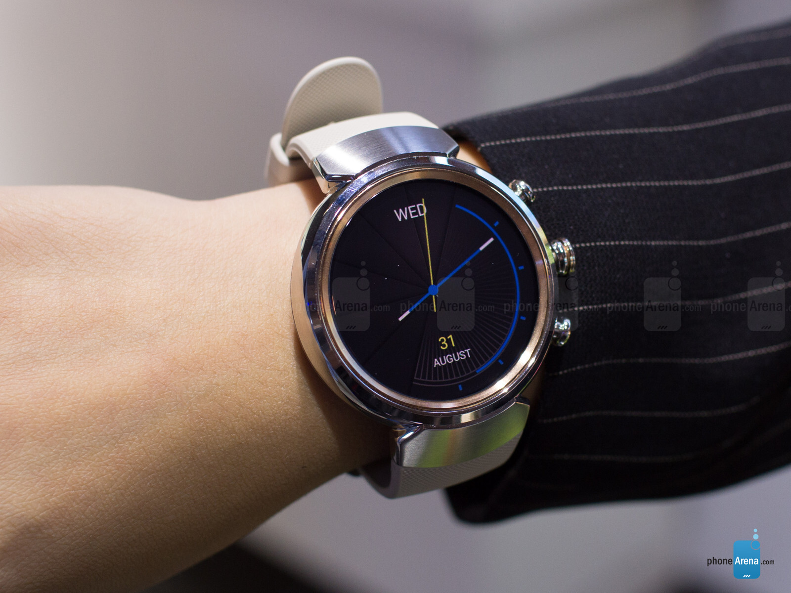 asus zenwatch 3 hands on a thing of beauty phonearena. Black Bedroom Furniture Sets. Home Design Ideas