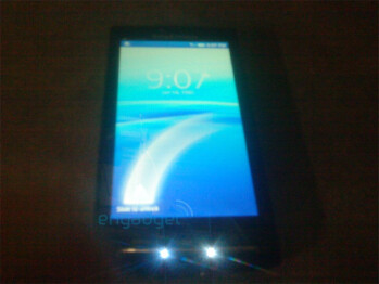 Images of the Android powered Sony Ericsson XPERIA X3?