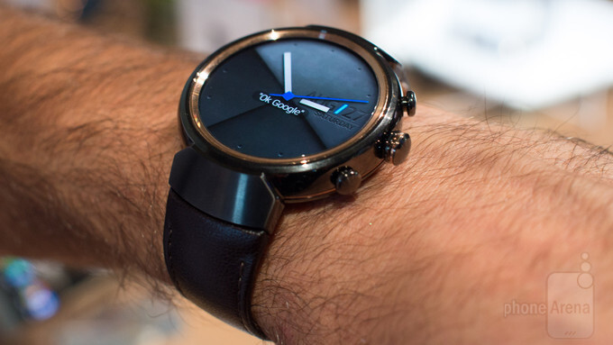 Asus Zenwatch 3: video demo of Asus' first round smartwatch