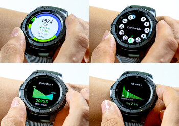 Samsung Gear S3 Frontier and S3 Classic official hands-on ...