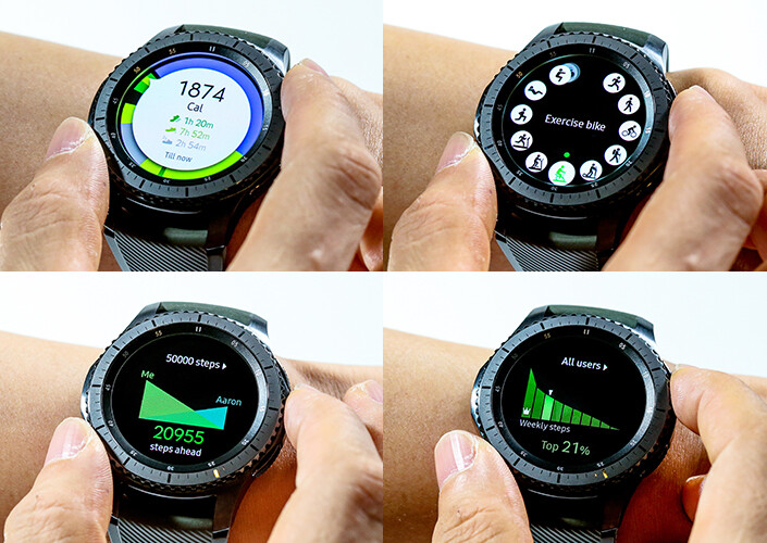 Samsung Gear S3 Frontier and S3 Classic official hands-on and promo