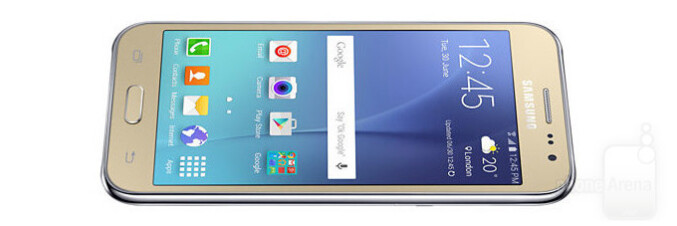 The Galaxy J2 DTV is Samsung's first smartphone with a digital TV tuner