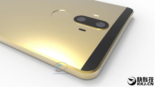 Huawei Mate 9 leak-based renders
