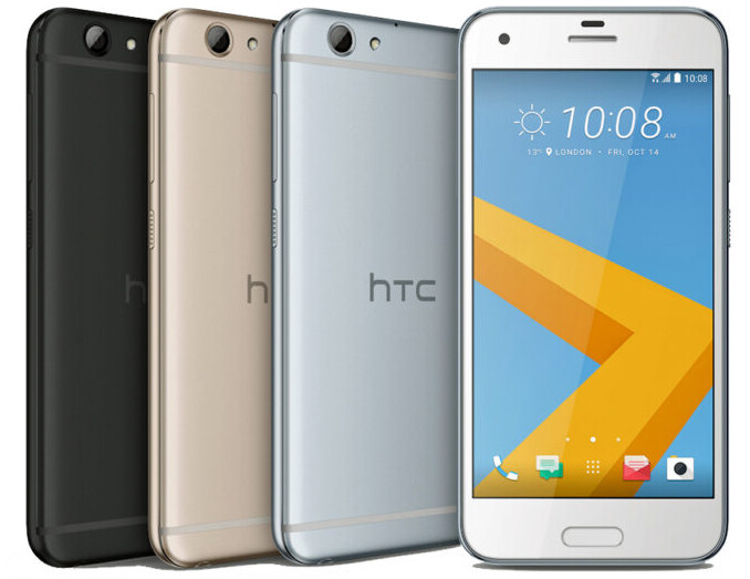 """HTC makes the One A9s official - 5"""" metal midranger with cheaper pricing than the A9"""