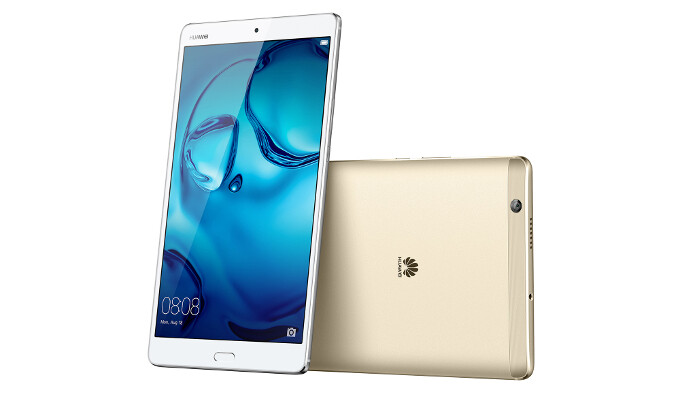 """Huawei MediaPad M3 now official: 8.4"""" slate with stereo speakers focusing on media consumption"""