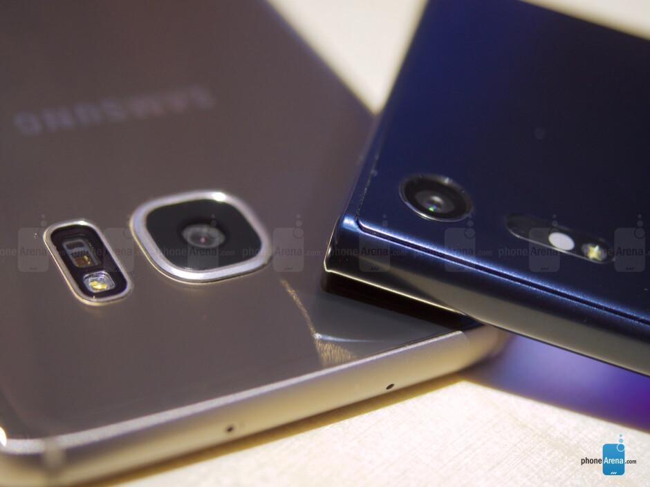 Sony Xperia XZ vs Samsung Galaxy S7 Edge: quick first look comparison