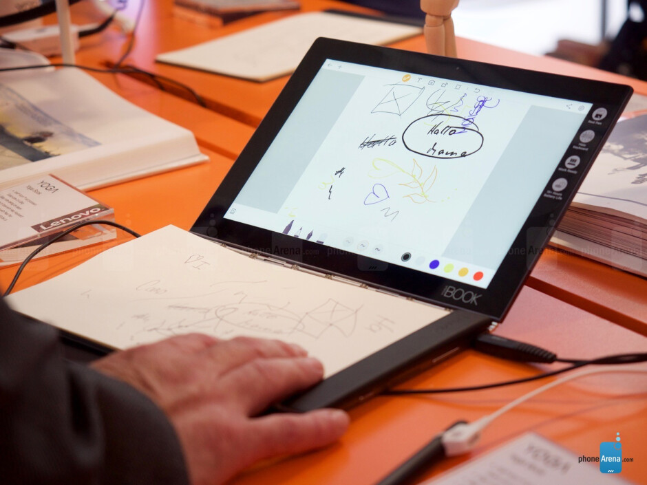 Lenovo Yoga Book preview: Hey look, it's a tablet with a notepad!
