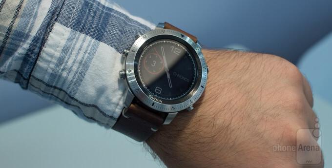 Smuk Garmin Fenix Chronos hands-on: here's what a $1000 smartwatch MV-87